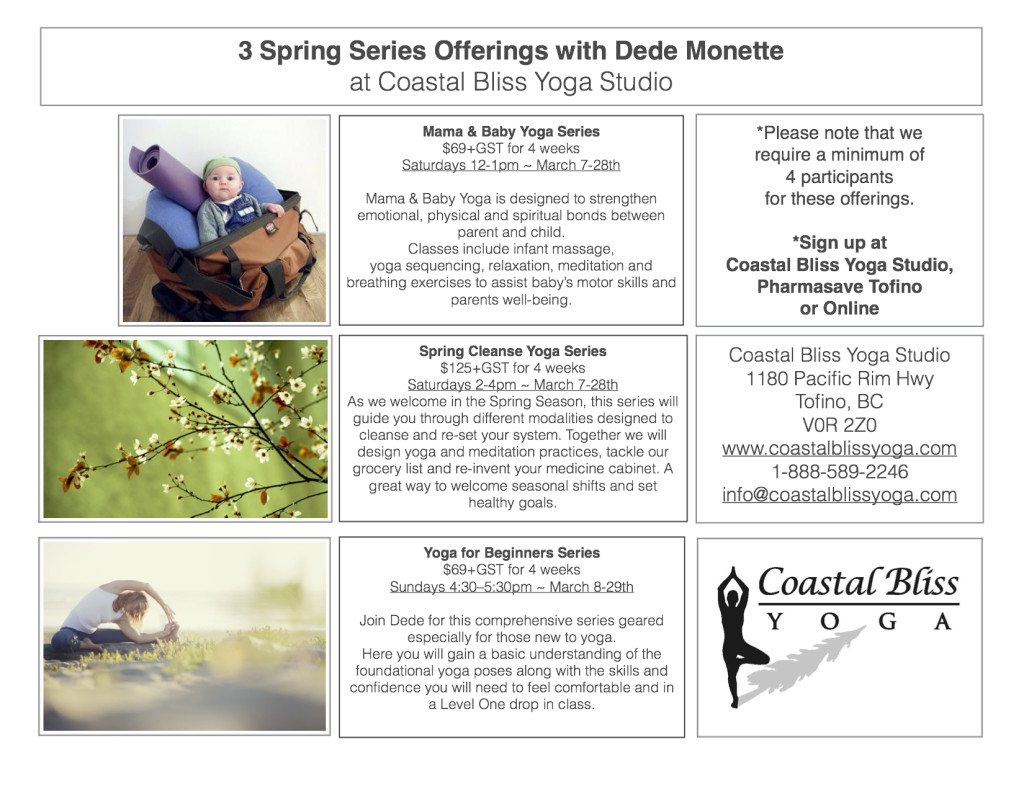 Spring Yoga Series with Dede