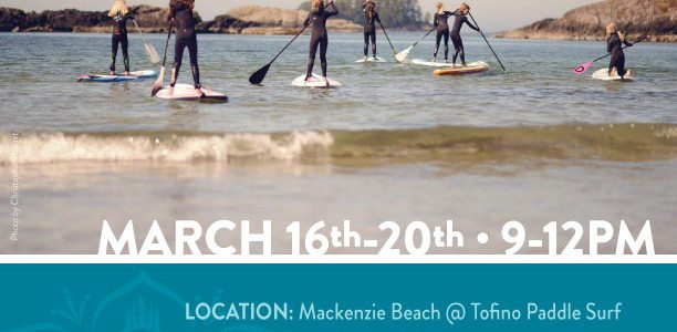 Spring Break Kids SUP Camp: March 16th to 20th, 9am-12pm